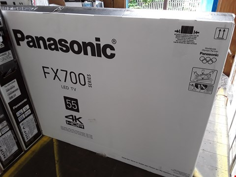 "Lot 1036 PANASONIC 55"" FX700 4K HDR TELEVISION MODEL TX-55FX700B"