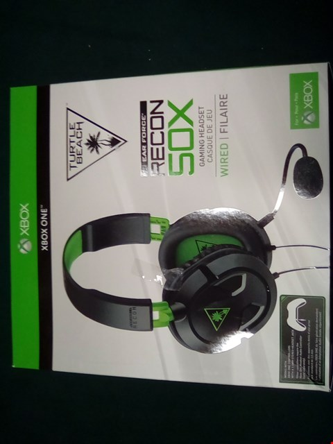 Lot 1005 TURTLE BEACH RECON 50X GAMING HEADSET
