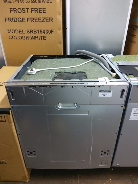 Lot 7027 SWAN INTEGRATED FULL SIZE DISHWASHER