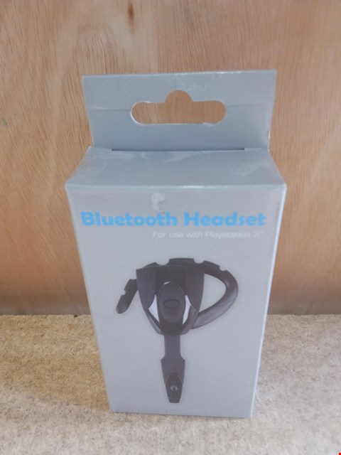 Lot 635 A BRAND NEW BOXED BLUETOOTH HEADSET FOR USE WITH PS3
