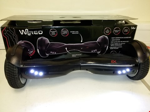 Lot 9216 WIRED EX NEXT GENERATION GLIDEBOARD WITH SELF LEVELLING TECHNOLOGY RRP £320.00