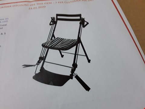 Lot 70 BOXED CHAIR GYM TOTAL BODY EXERCISE MACHINE