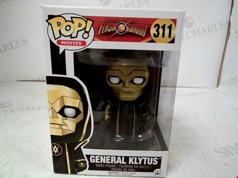 Lot 3078 POP! MOVIES: FLASH GORDON: GENERAL KLYTUS VINYL FIGURE