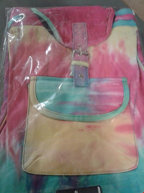 Lot 249 COMPACT RAINBOW BACKPACK