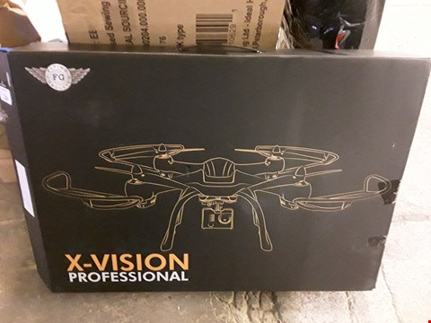 Lot 7182 X-VISION PROFESSIONAL DRONE WITH HD CAMERA