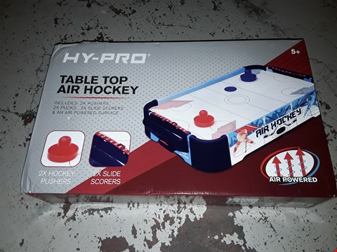 Lot 2238 BOXED 20INCH TABLE TOP AIR HOCKEY GAME RRP £24.99