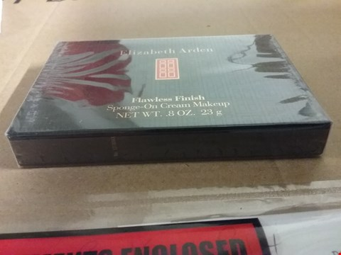 Lot 1260 A LOT OF 2 BRAND NEW  BOXES OF ELIZABETH ARDEN FLAWLESS FINISH SPONGE-ON CREAM MAKEUP 8OZ. 23G RRP £40