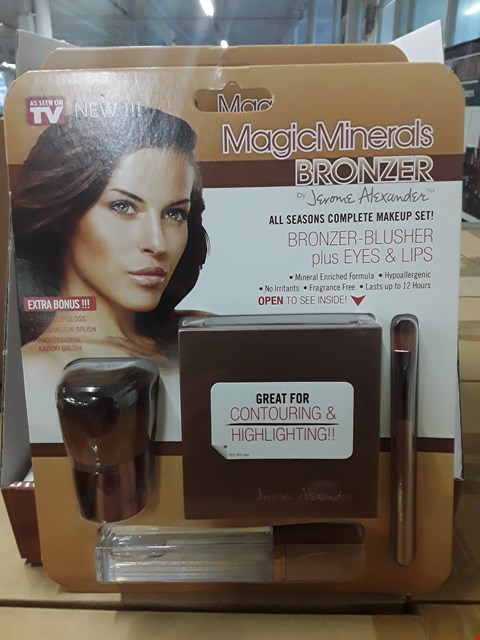 Lot 3648 BOX OF APPROXIMATELY 6 x JEROME ALEXANDER MAGIC MINERALS BRONZER ALL SEASONS COMPLETE MAKE UP SET