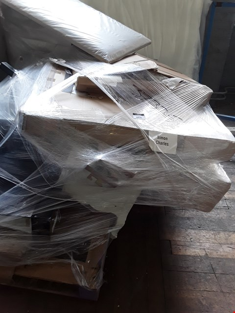 Lot 364 PALLET OF ASSORTED FLAT PACK FURNITURE PARTS