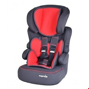 Lot 10561 BRAND NEW NANIA BELINE SP LUXE GROUP 123 HIGH BACK BOOSTER SEAT RRP £70.00