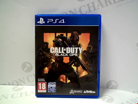 Lot 5727 CALL OF DUTY: BLACK OPS IIII PLAYSTATION 4 GAME