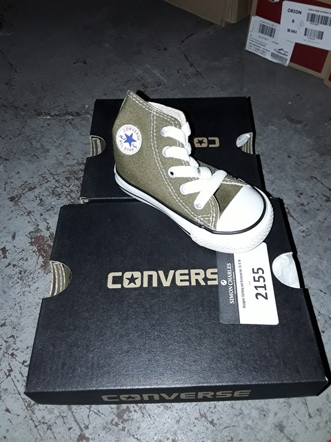 Lot 2155 LOT OF 5 ASSORTED DESIGNER BRAND NEW CONVERSE TRAINERS ASSORTED SIZES  RRP £100