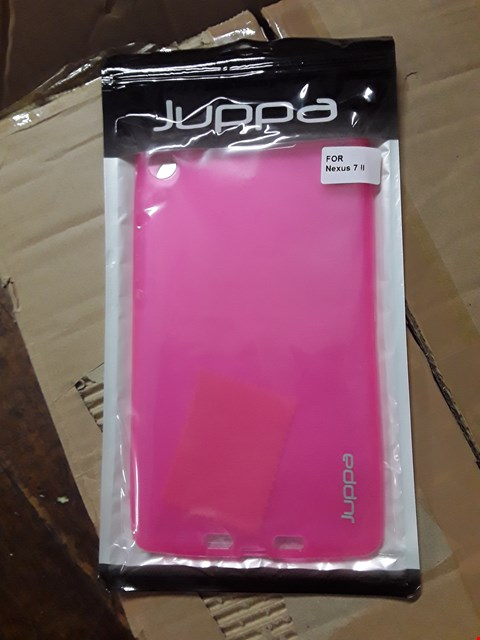 Lot 2068 BOX OF APPROXIMATELY 50 JUPPA NEXUS 7 2ND GEN GEL CASE - HOT PINK
