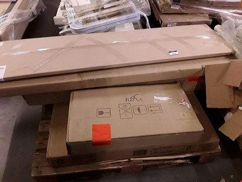Lot 2002 PALLET OF ASSORTED FLAT PACK FURNITURE PARTS