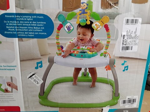 Lot 1074 FISHER-PRICE CHN38 RAINFOREST SPACESAVER JUMPEROO