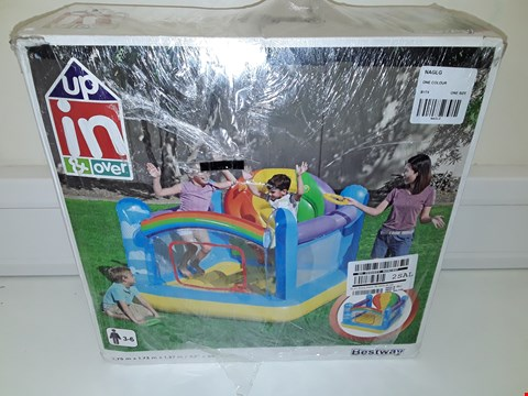 Lot 7762 UNBOXED BESTWAY HOT AIR BALLOON BOUNCER  RRP £89.99