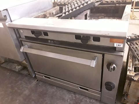Lot 2 FALCON GAS FIRED RANGE WITH GRILL TOP & SINGLE DOOR OVEN