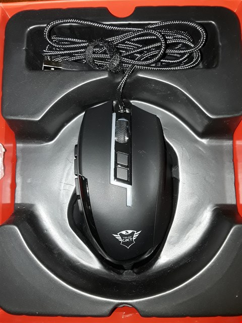 Lot 4308 TRUST SIKANDA GTX 164 GAMING MOUSE
