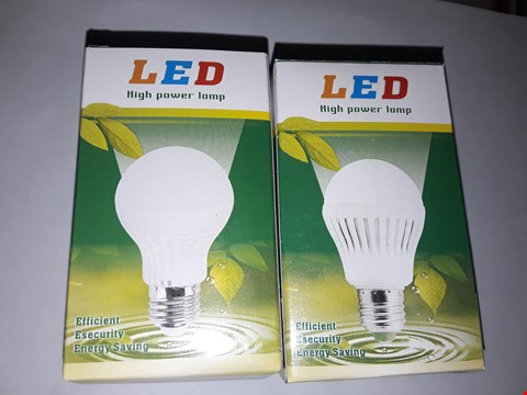 Lot 12113 APPROXIMATELY 50 BRAND NEW LED 3W WATM WHITE LAMP