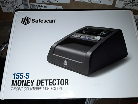 Lot 5765 SAFESCAN 155-S - AUTOMATIC COUNTERFEIT DETECTOR SUITABLE FOR GBP NOTES