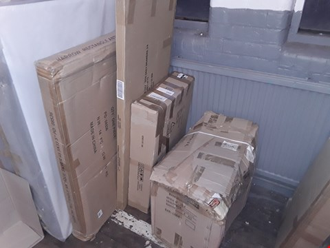Lot 7008 LOT OF ASSORTED DESIGNER FLATPACK FURNITURE PARTS (4 BOXES)