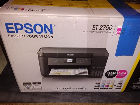 Lot 1746 EPSON ET-2750 ECOTANK A4 PRINTER