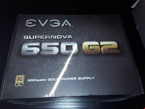 Lot 86 BOXED EVGA SUPERNOVA 650 G2 GOLD POWER SUPPLY