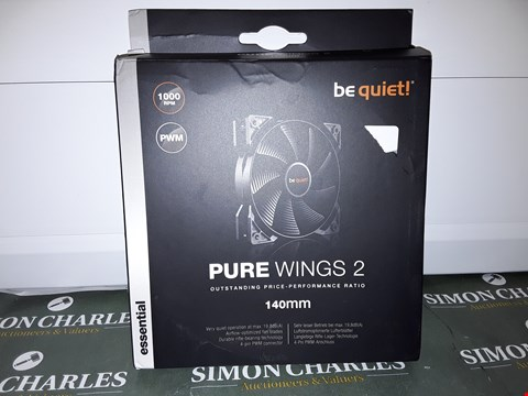 Lot 4623 BOXED BE QUIET! PURE WINGS 2