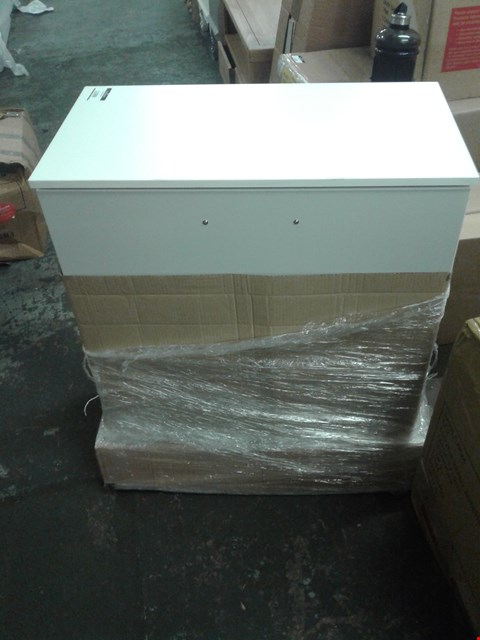 Lot 264 4 DRAWER CHEST OF DRAWERS - WHITE