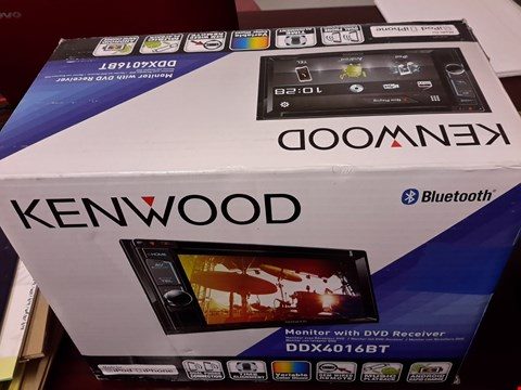 Lot 87 KENWOOD MONITOR WITH DVD RECEIVER