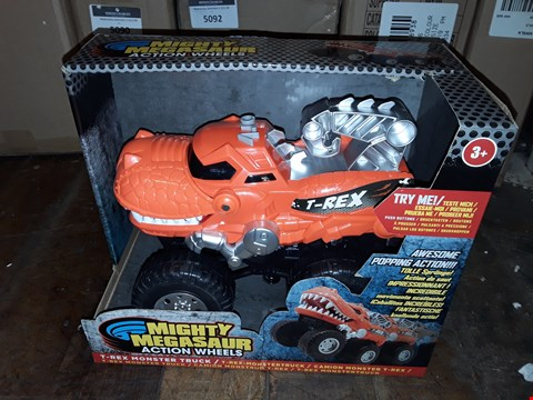 Lot 6190 MIGHTY MEGASAUR ACTION WHEELS  RRP £22.99