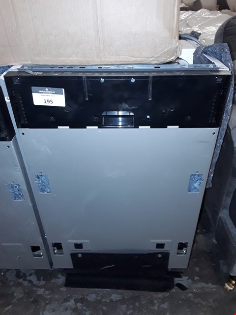 Lot 195 BEKO BUILT IN INTEGRATED DISHWASHER  RRP £128