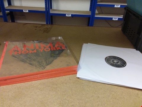 """Lot 8268 LOT OF 12 ASSORTED THOM YORKE 12"""" VINYL RECORDS"""