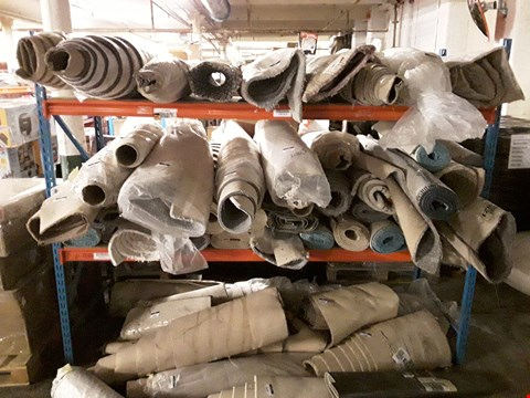 Lot 3272 ONE ROLL OF SMALL CARPET/VINYL FLOORING -  SIZE/STYLE UNSPECIFIED