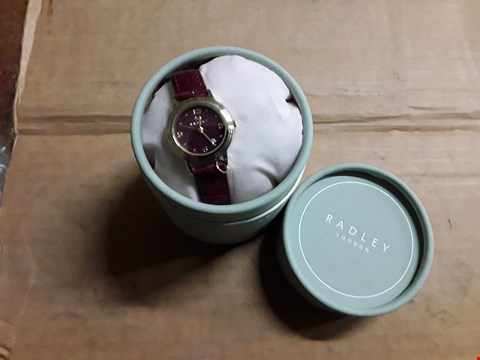 Lot 3107 RADLEY BERRY LEATHER STRAP WATCH  RRP £120.00