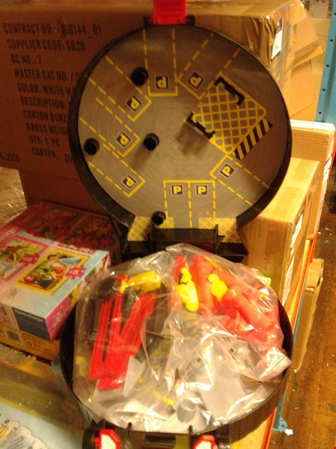 Lot 6017 SET OF 2 CHAD VALLEY WHEEL PLAY SETS