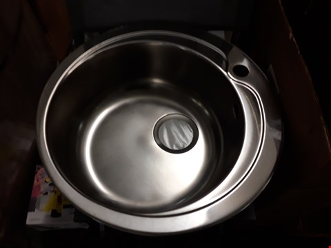 Lot 126 QUIMBY ROUND BOWL SINK