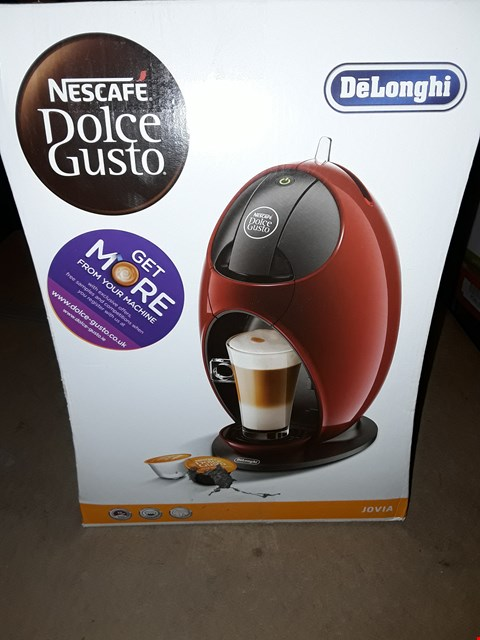 Lot 707 DELONGHI NESCAFE DOLCE GUSTO COFFEE MAKER