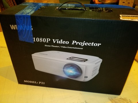 Lot 8319 WIMIUS 1080P VIDEO PROJECTOR