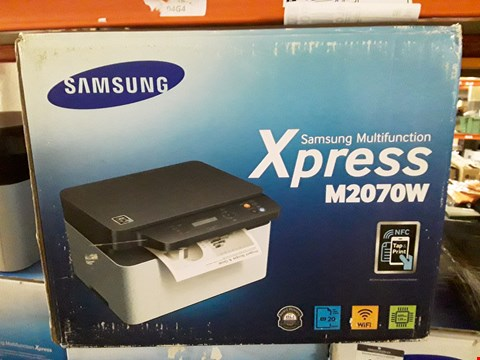 Lot 9416 BOXED SAMSUNG XPRESS M2070W WIRELESS PRINTER
