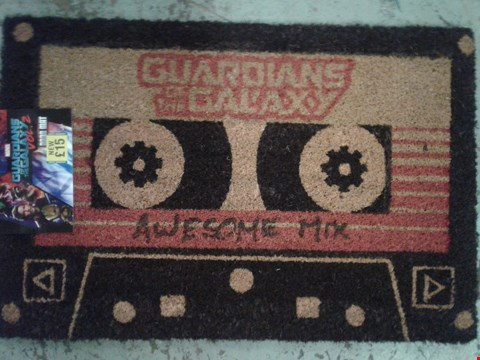 Lot 762 BRAND NEW GUARDIANS OF THE GALAXY DOOR VOL.2 MAT