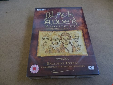 Lot 2567 BLACK ADDER REMASTERED THE ULTIMATE EDITION WITH EXCLUSIVE EXTRAS