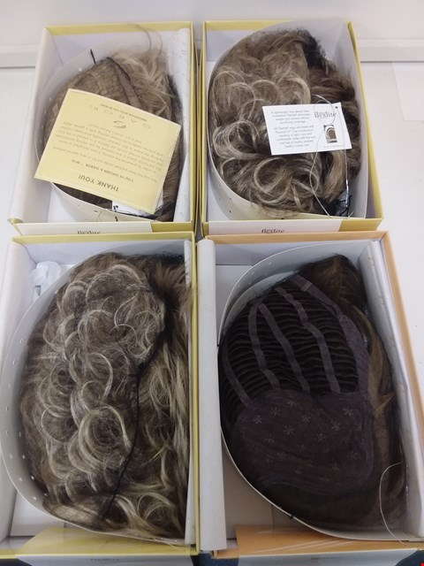 Lot 580 LOT OF 4 ASSORTED WIGS