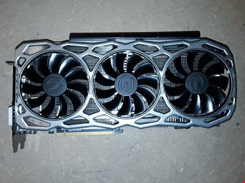 Lot 415 EVGA GEFORCE GTX 1080 GRAPHICS CARD