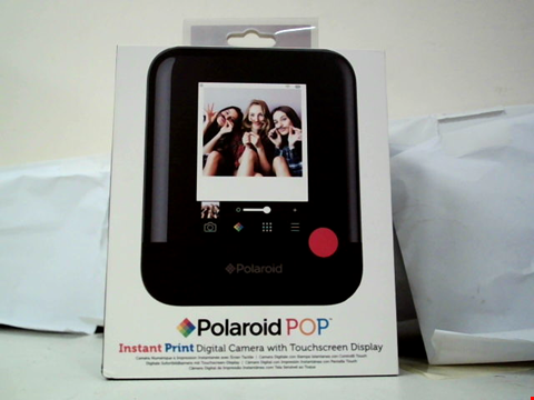 Lot 118 POLAROID INSTANT PRINT DIGITAL CAMERA WITH TOUCHSCREEN DISPLAY