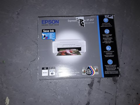 Lot 1499 EPSON XP-247 WIFI PRINTER