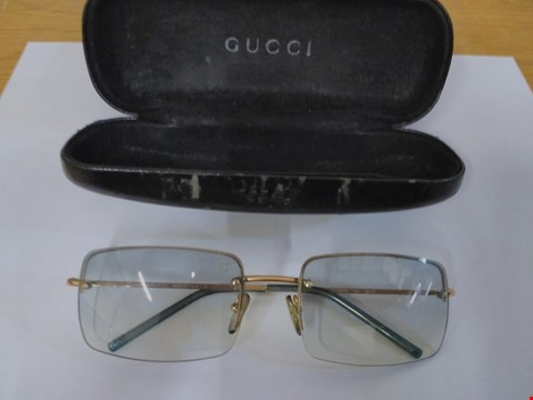 Lot 1588 GUCCI STYLE GLASSES WITH CASE