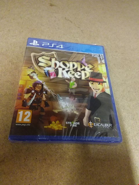 Lot 8202 SHOPPE KEEP PS4 GAME