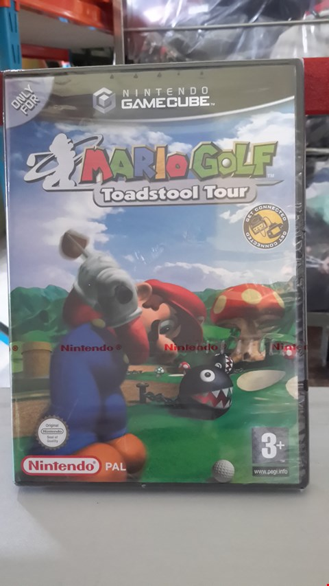 Lot 9012 MARIO GOLF TOADSTOOL TOUR FOR NINTENDO GAMECUBE
