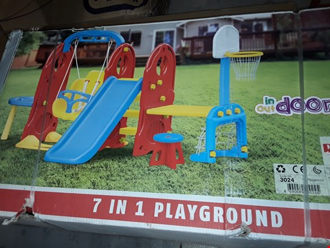 Lot 160 BOXED DOLU 7-IN-1 PLAYGROUND RRP £235